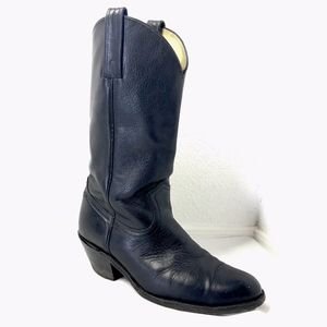 FRYE Black Cowboy Boots Roper Men's 10